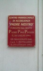 Tabella Centro Padre Nostro